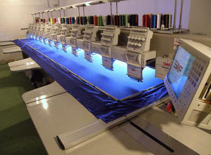 SWF SWF/D –WH 912-75 Embroidery machine