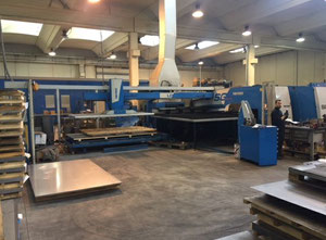 FINN POWER SG6+C1500X2+Buffer+STR6 Combining machine laser / punch