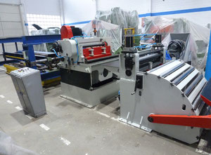 Arrasate LAP-1001,5 Straightening and slitting line