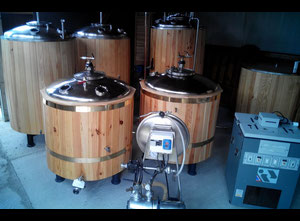 Micro-brewerie 1000L Wine, beer or alcohol making machine