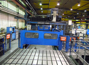 Burkhardt Weber Hyop 750 Portalfräsmaschine