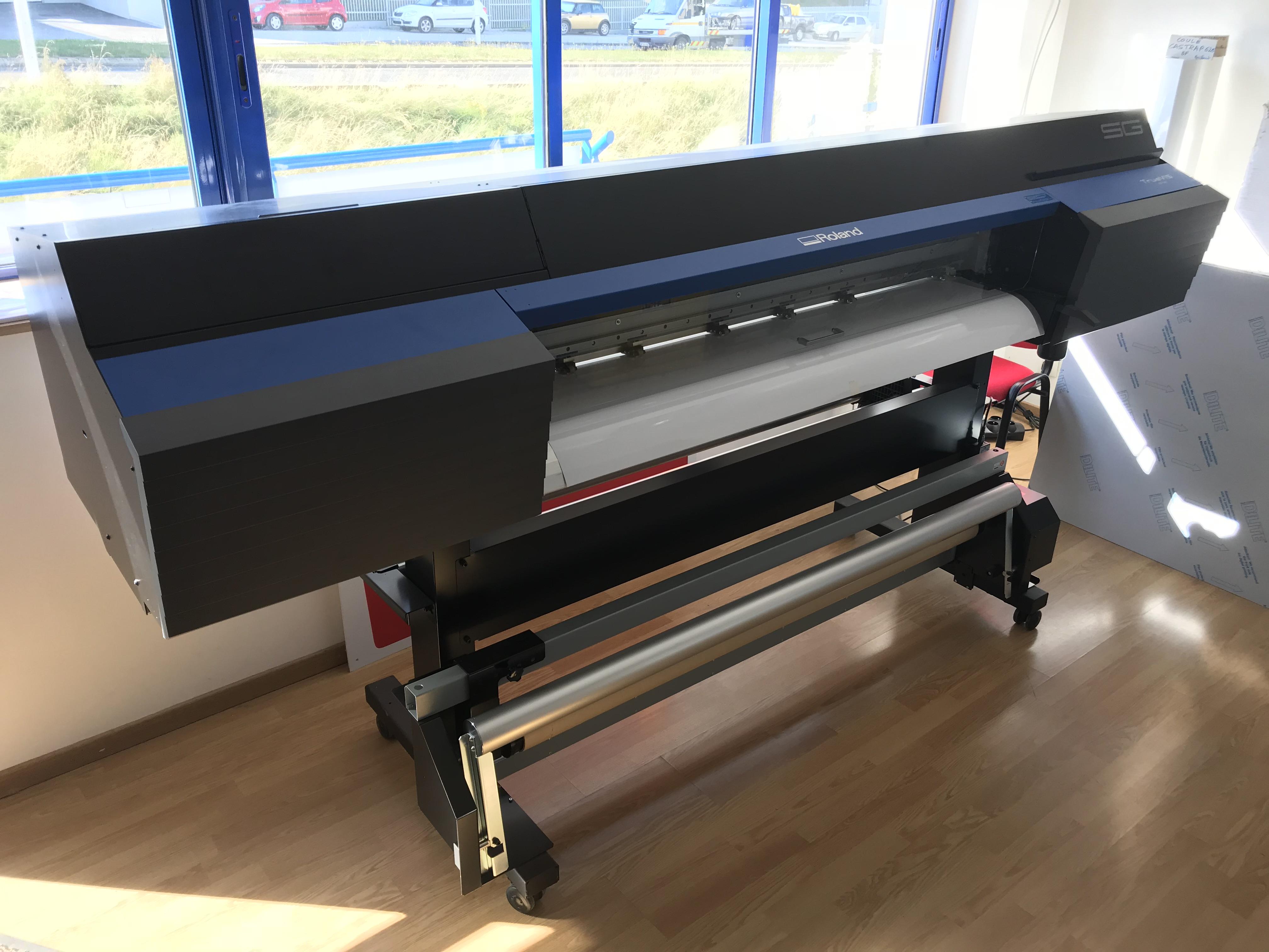 Roland Truevis SG 540 large format plotter - Exapro