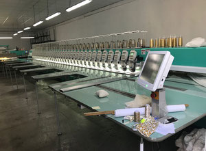 Used Sinsim 636 Embroidery machine