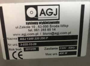 AGJ SER 4000 Labeller