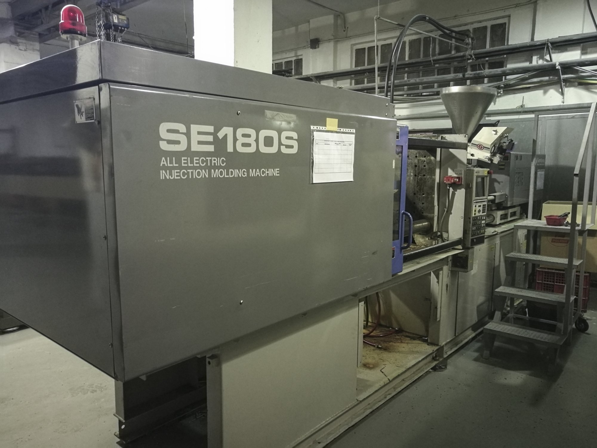 Sumitomo Se180s Injection Moulding Machine Exapro