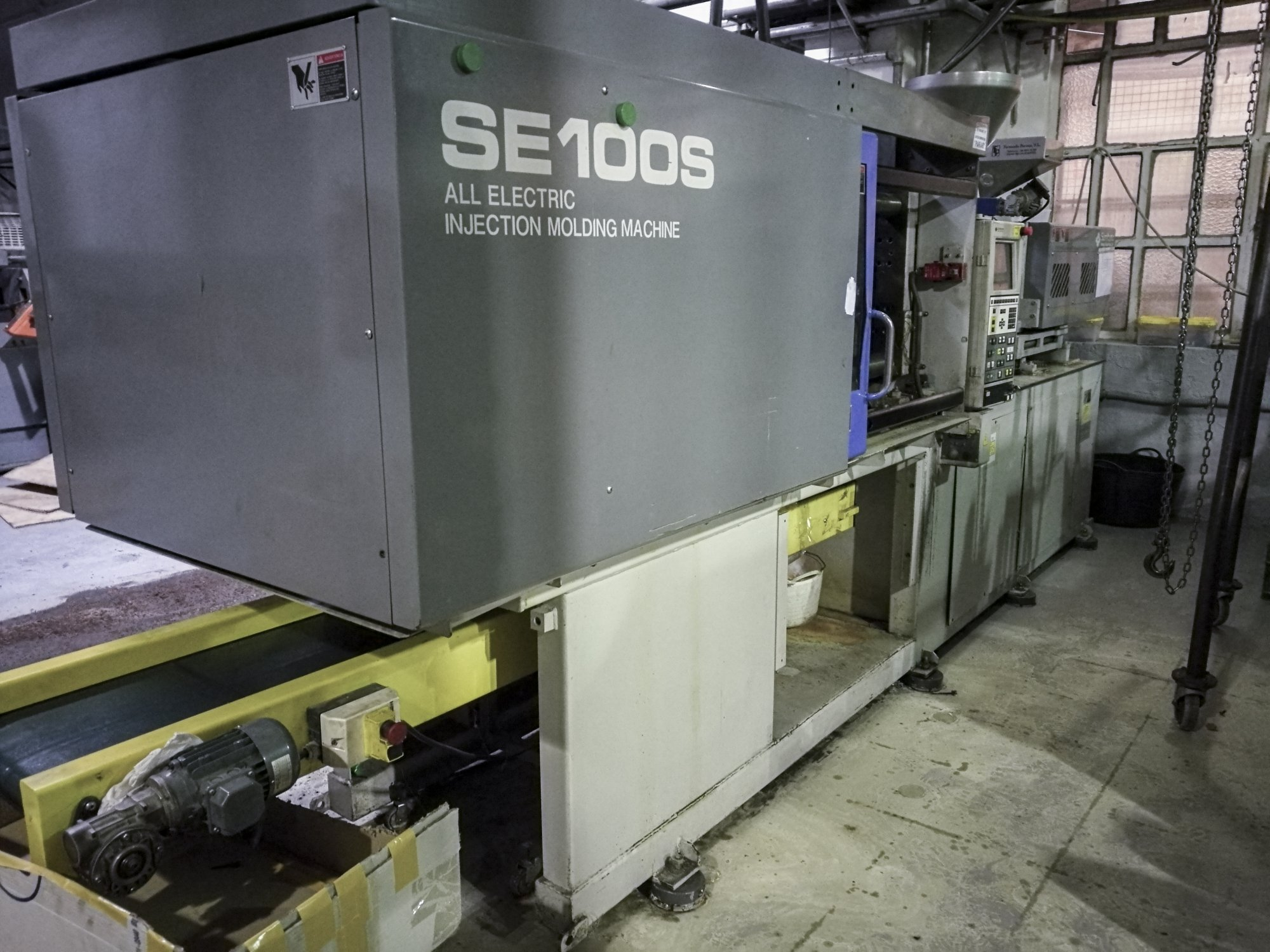 Sumitomo Se100s Injection Moulding Machine Exapro