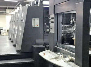 Beş renk ofset baskı makinesi Heidelberg XL 105-5