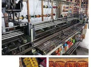 Germany Kohler Crochet Machine Textile machine