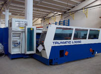 Trumpf tcl 3050 laser cutting machine