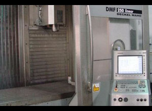DMG 250 linear cnc vertical milling machine