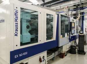 Krauss Maffei KM 160-1000 EX all electric injection moulding machine