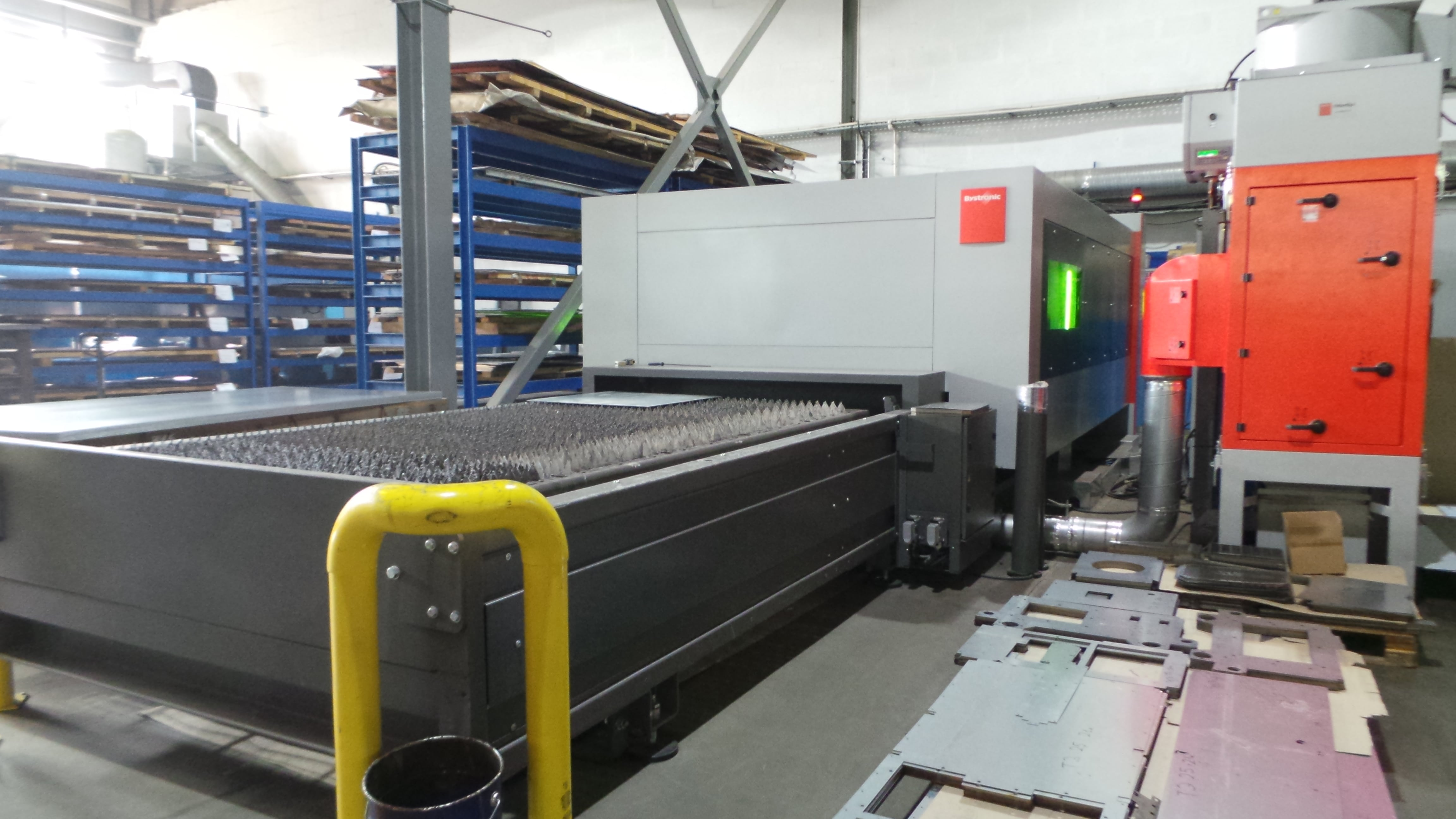 Bystronic BySmart 3015 Fiber laser cutting machine - Exapro