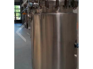 Amsi STAINLESS STEEL PRESSURE TANK, HEATABLE P81004018