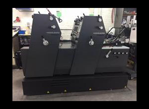 Heidelberg Printmaster GTO 52+2 Offset two colours