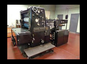 Offset un color Heidelberg Sord