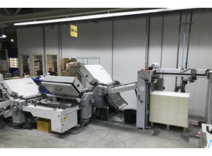 Heidelberg-Stahlfolder TD78/442 folding machine
