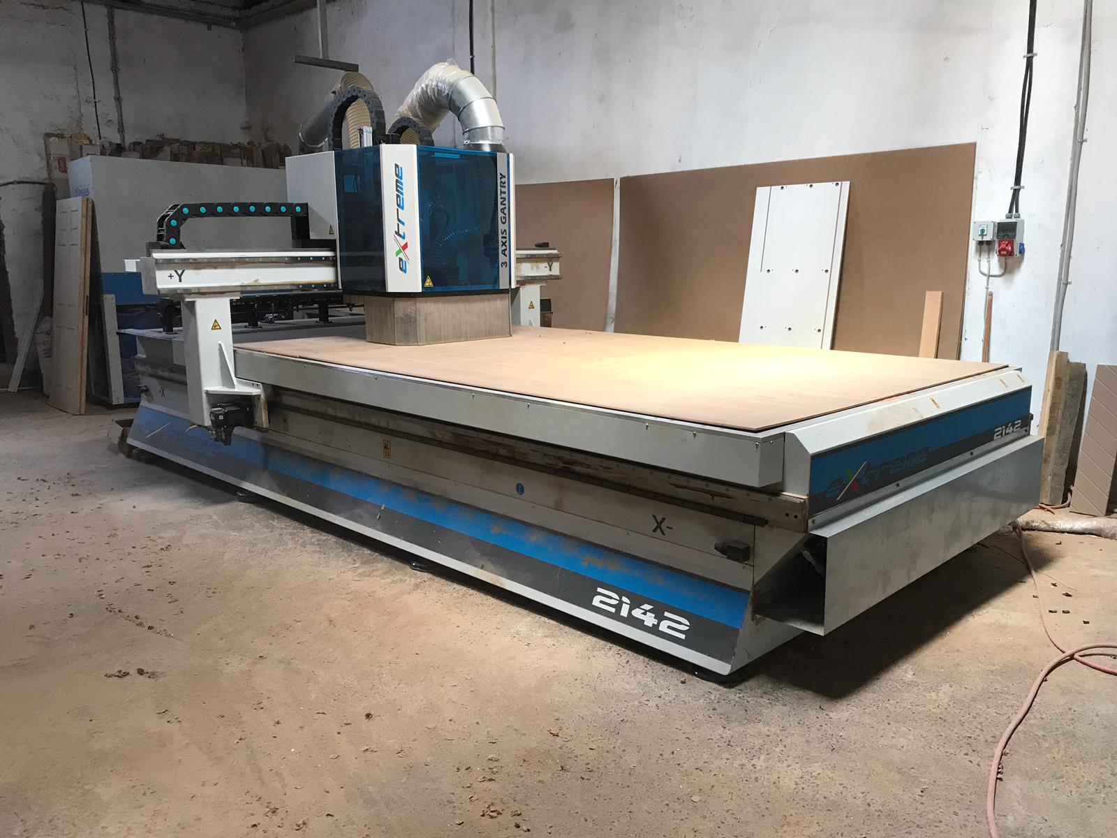 aes extreme 2142 wood cnc machining