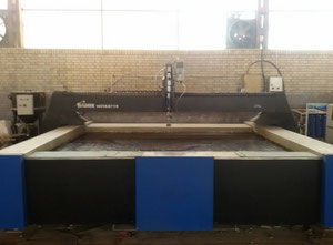 BFT ECOTRON 40.37 waterjet cutting machine