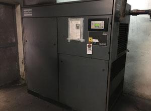 Compresor de tornillo lubricante Atlas Copco GA55