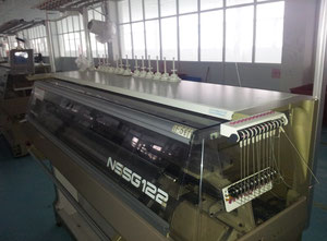 Japan NSSG 122Sv 7gg Flat knitting machine