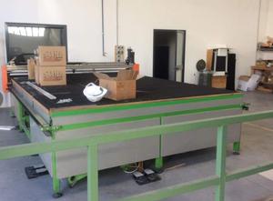 Elettroflex Mec 75 XYZ Glasschneidemaschine / Glaskantenbearbeitungsmaschine