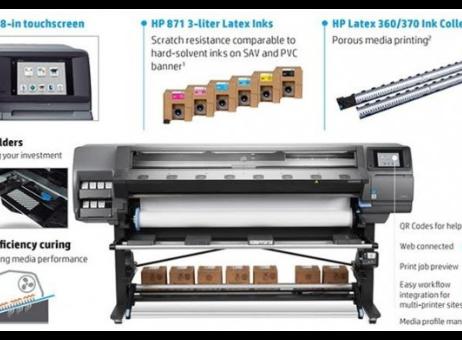 Hp Latex 370 Digital press - Exapro