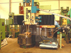 Used Berthiez TFM 100 vertical turret lathe with cnc
