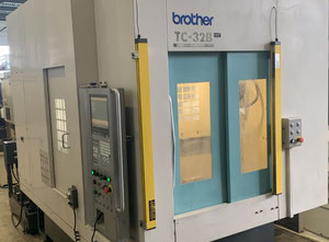 Used Brother TC-32B QT HSK CNC Tapping & Drilling Centre