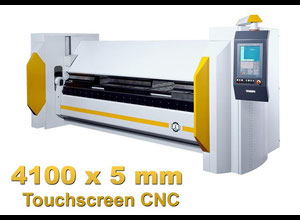 Ras Gigabend 4100 x 5 mm CNC Folding machine