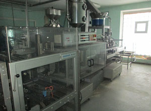 Bossar B 1.600 Butter production, wrapping and portioning machine