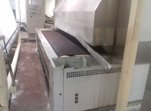 W&P NUN 3000/21 tunnel oven with wire mesh belt