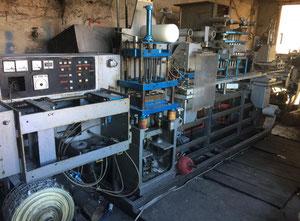 Tvarování termoplastů - Tvarující, plnící a  uzavírací linka Hassia va 2 sl