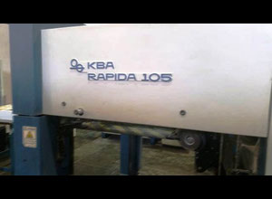 Kba Rapida 105-5 PWVA Offset four colours