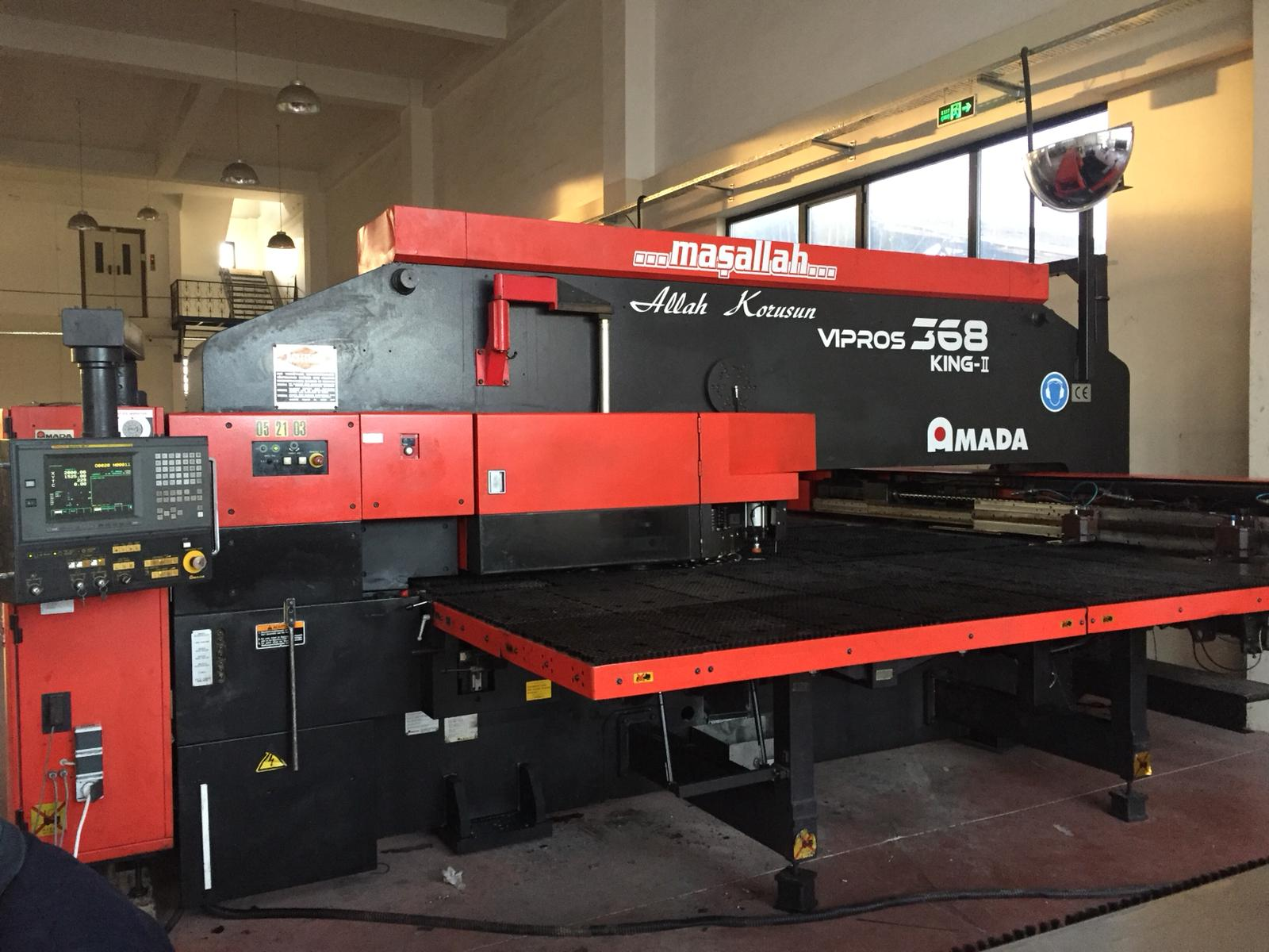 Amada Vipros 368 King Cnc Punching Machine Exapro