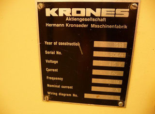 Krones Canmatic 073 P81113002
