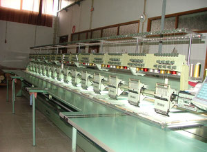 TAJIMA multi-head embroidery machine TMEG-G915