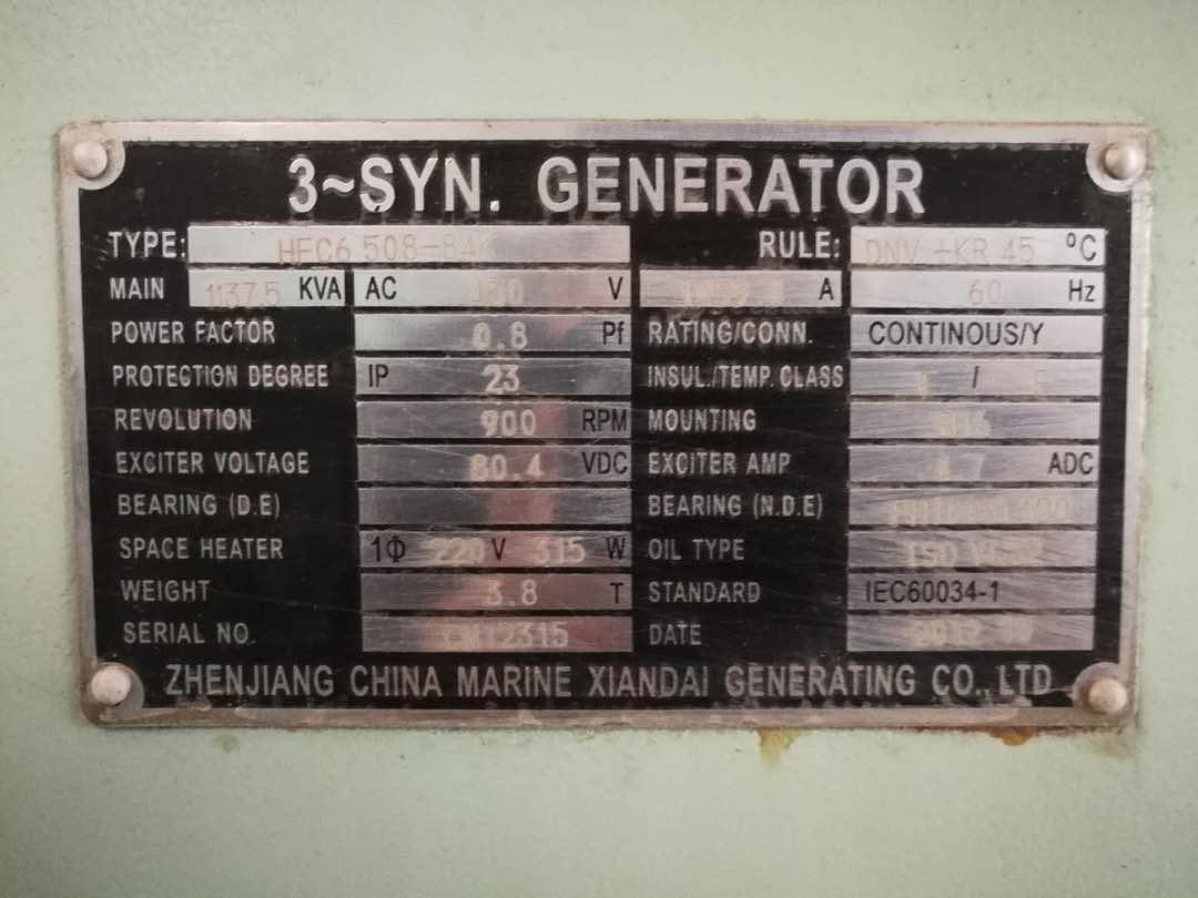 Brand new MAN 6L23/30H Generator set - Exapro