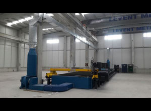 Ajan 18000 mm x 3000 mm Cutting machine - Plasma / gas
