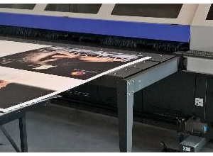Used Flora 250 F1 large format plotter