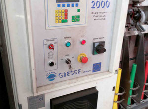 Fully electronic chenille machines Giesse model SL 2000 – y.o.c. 2000