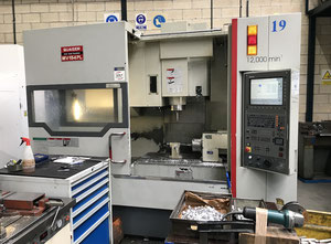 Quaser MV-154-PL 4-axis vertical machining center