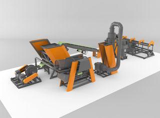 Собственное Производство TIRE RECYCLING APL-500 P81129005
