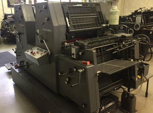 Heidelberg GTO 52-2+ Offset two colours