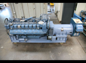 MTU Friedrichshafen MTU 16396 Diesel CHP - (Combined Heating and Power Plant) (Only 980 working hours)