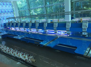 Zhuji 6,12 Embroidery machine
