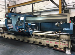 Used Geminis GHT 5 G2 heavy duty lathe