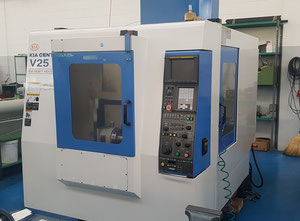 Used KIA V25 Machining center - palletized