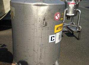 Inox Tank 450L Behalter