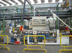 PRT Recycling machine EXTRUDER  150 kg/h