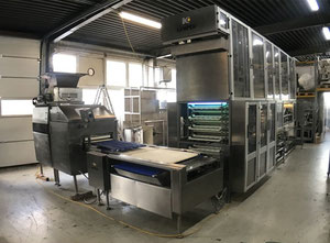 Kemper Bread Roll Line Complete biscuit or croissant production line